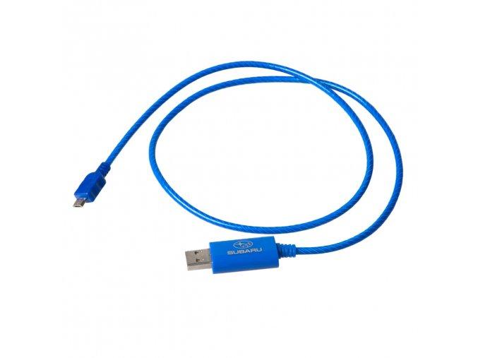 Nabíjecí svítící kabel k telefonu nebo tabletu