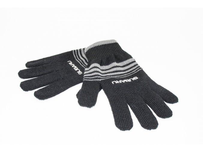 Pletené rukavice Subaru