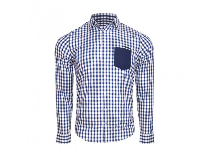 Ležérní kostkovaná košile
