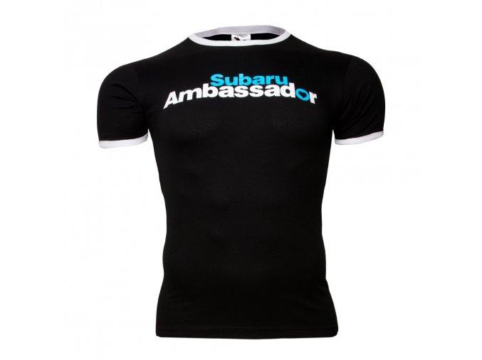 Tričko Subaru Ambassador černé