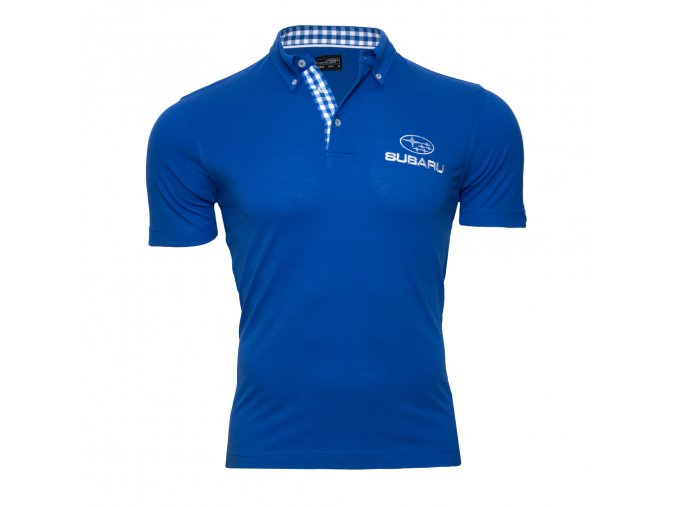 Polo tričko modré