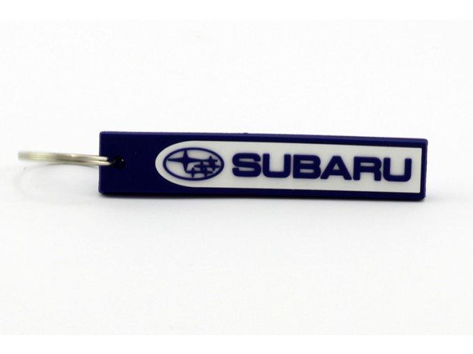 Klíčenka 3D logem Subaru
