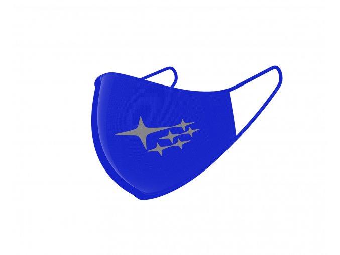 mask design blue