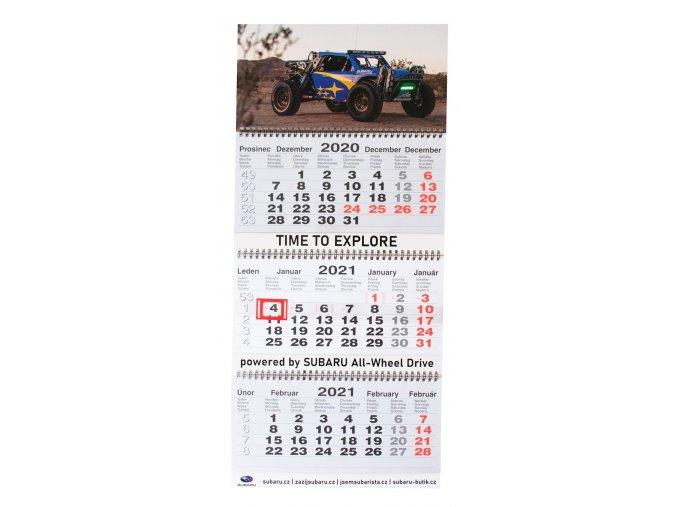 Calendar The Crosstrek Desert Racer