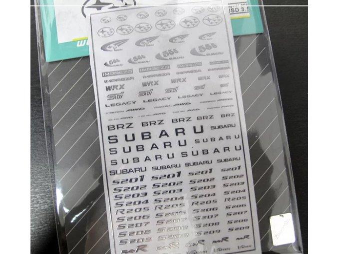 Subaru Stickers 1