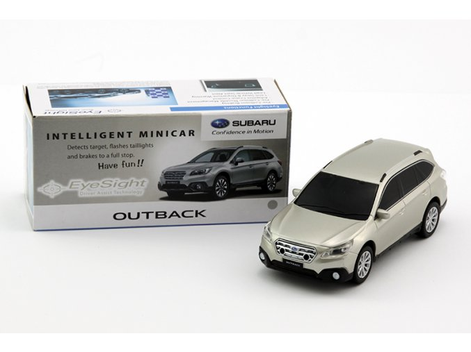 1550 modellauto outback eyesight 1 zu 40 silber