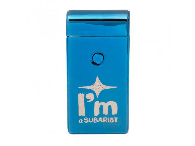 Zapalovač modrý - I'm a Subarist