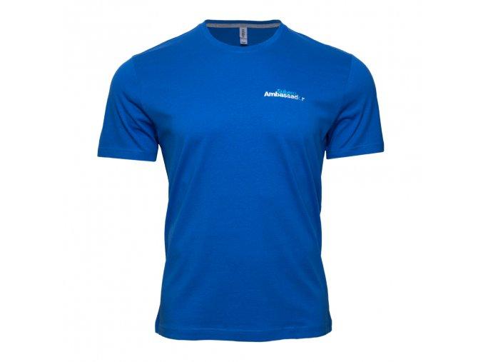 Tričko Subaru Ambassador modré