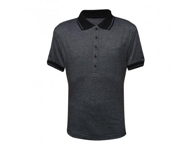 Polo tričko melange