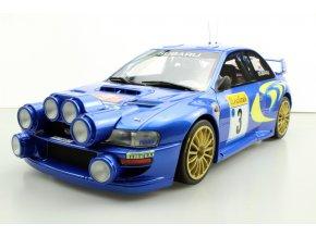 Sběratelský model Subaru S4 WRC (noční verze) - 1:12
