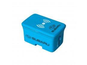 Cestovní adaptér s bezdrátovou nabíječkou mobilního telefonu