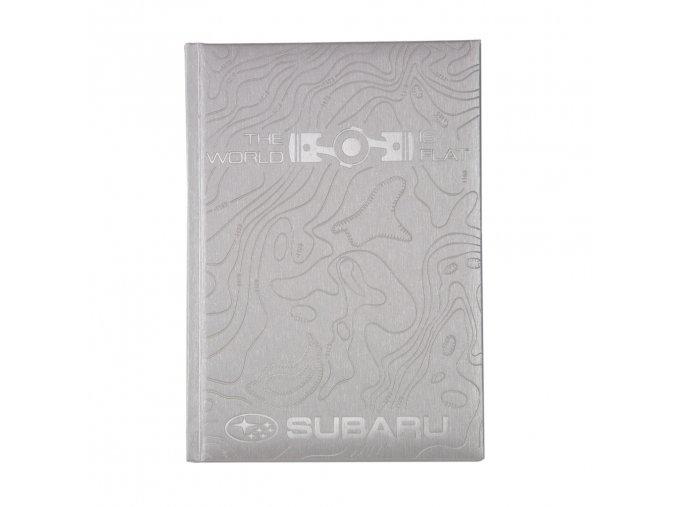 Zápisník Subaru THE WORLD IS FLAT
