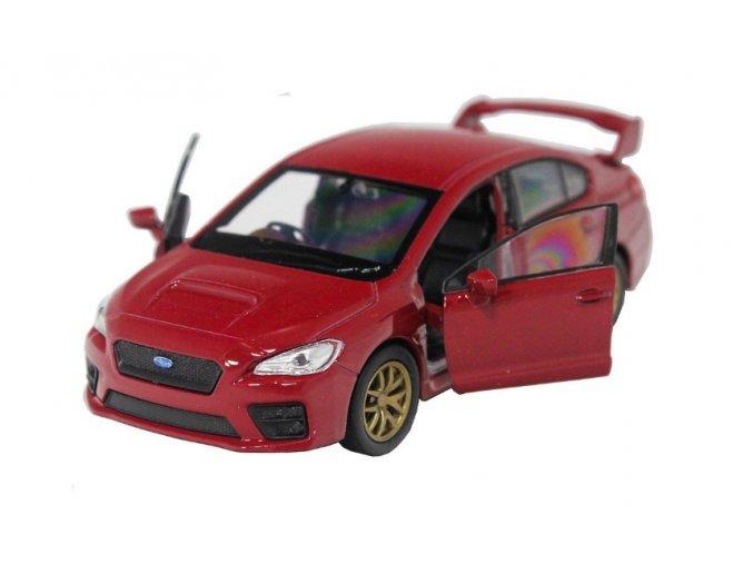 Subaru Impreza WRX STI 2015 Welly RED 2