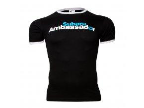 Tričko Subaru Ambassador černé (Barva Černá, Velikost XXXL)