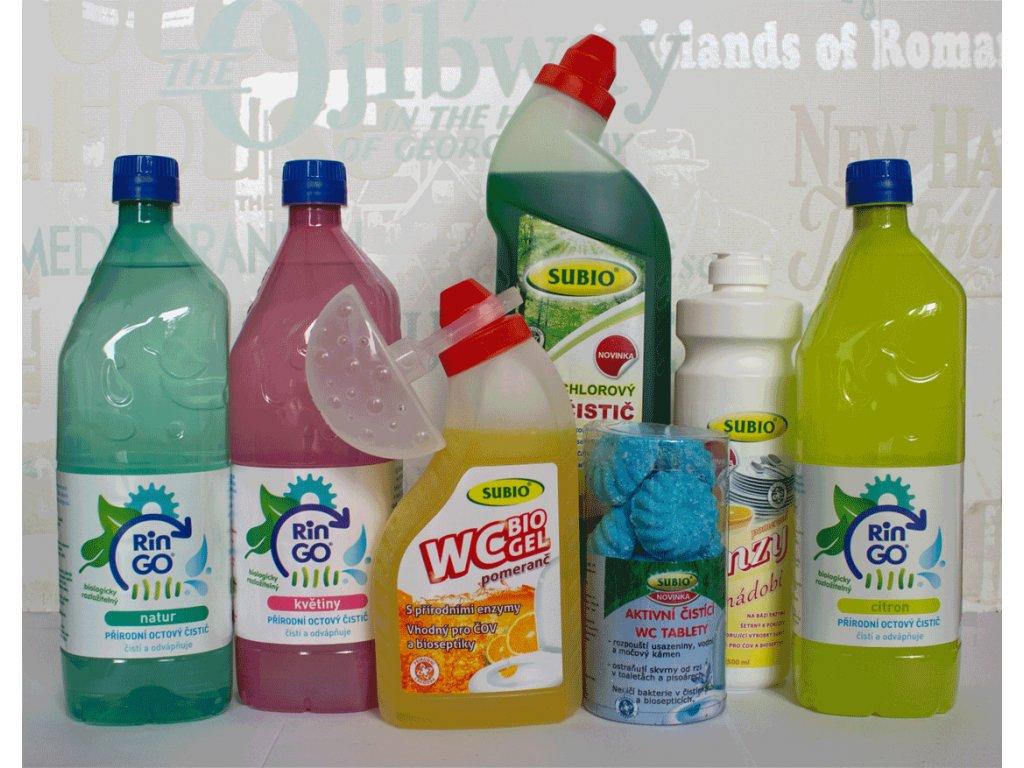 Balíček čistících prostředků