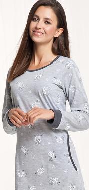 Dámská noční košile LUNA 061 ovečky