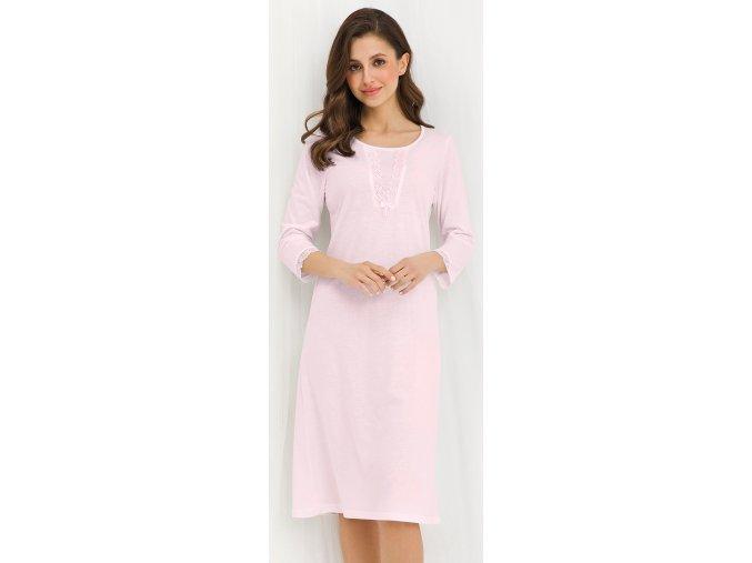 noční košile 280 růžová 1