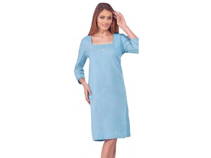 noční košile 091 modrá 1