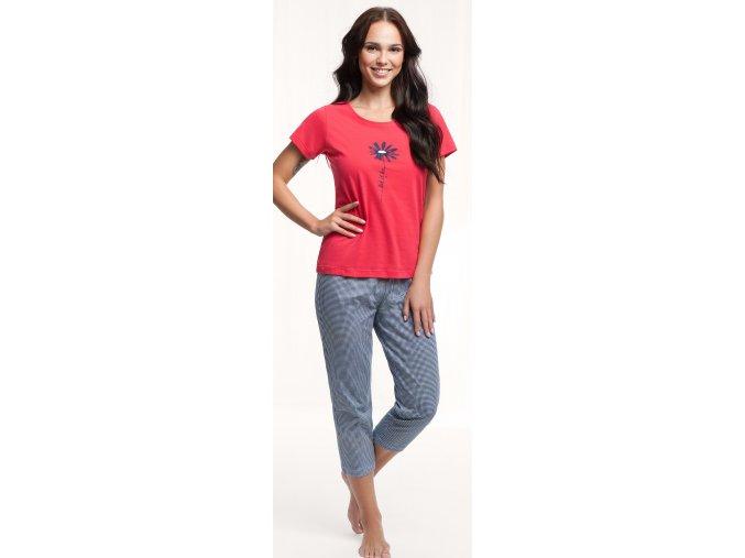 dámské pyžamo 562 červená 1a