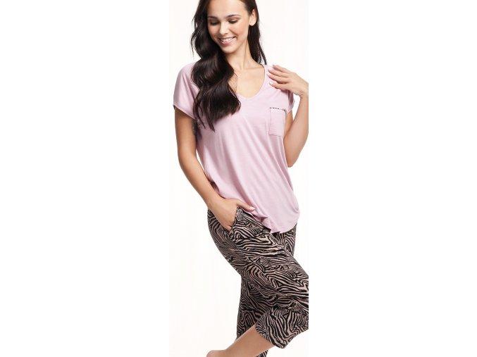 dámské pyžamo 579 růžová 2