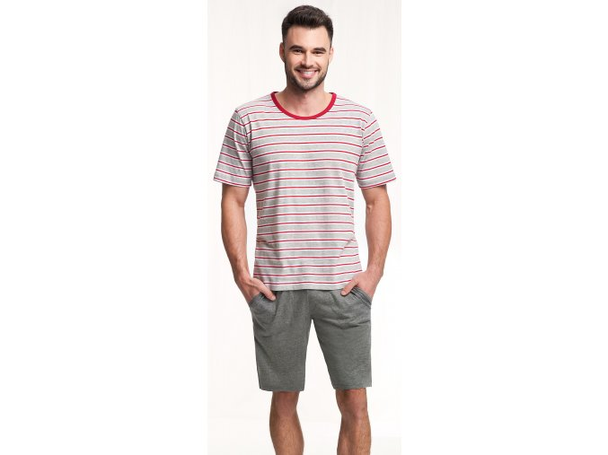 pánské pyžamo 771 červená 2
