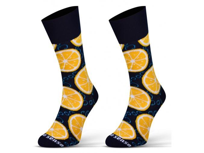 ponozky finest pomeranc 1b