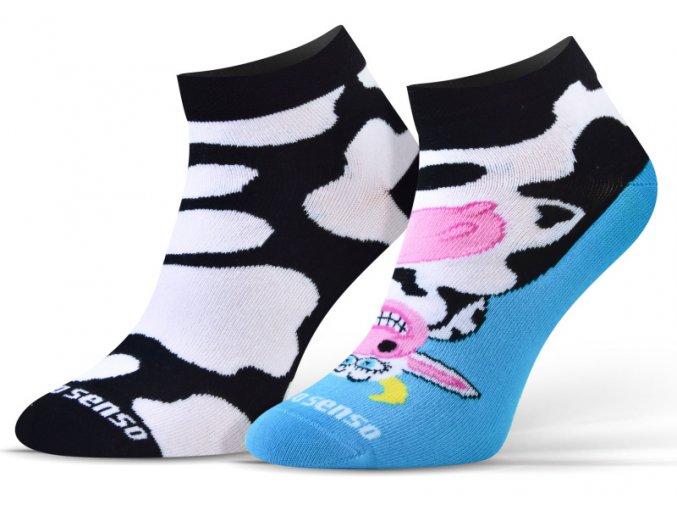 ponozky 34 krava 1