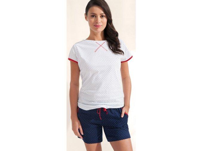 dámské pyžamo 694 bílá1