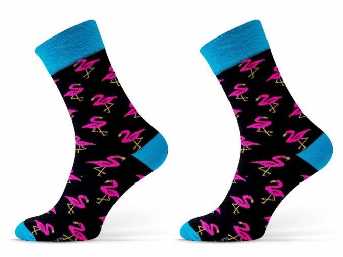 Ponožky FINEST Plameňáci