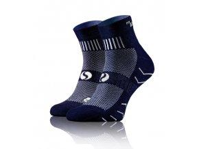 ponozky amz dark blue 2