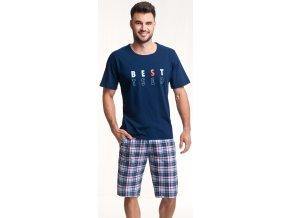 pánské pyžamo 718 granat 1
