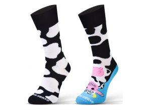 ponozky finest kráva 1a