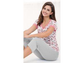 dámské pyžamo 473 růžová1