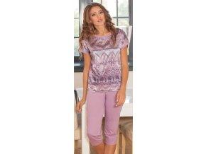dámské pyžamo 689 fialová1