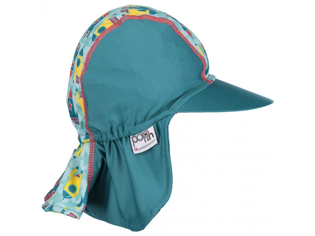 Pop in Peaked Sun Hat Rocket Side