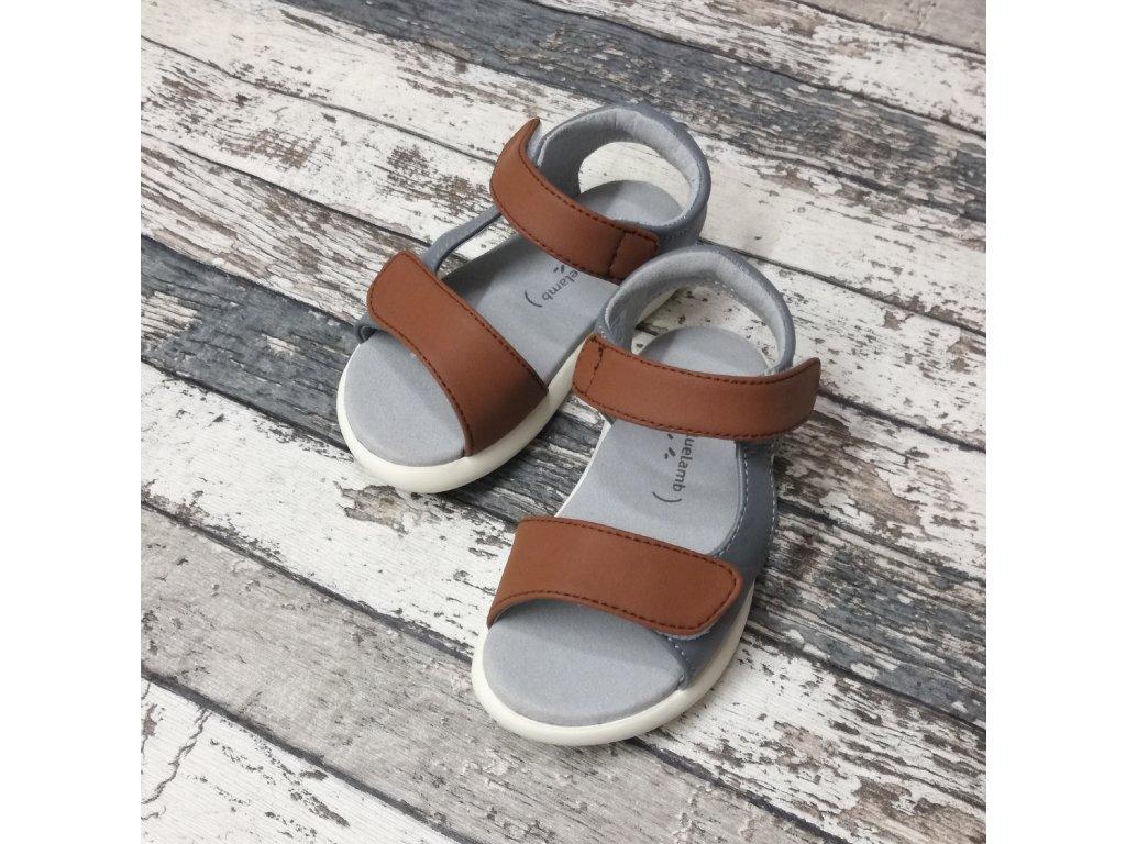Boty Little blue lamb, Slipper sandals