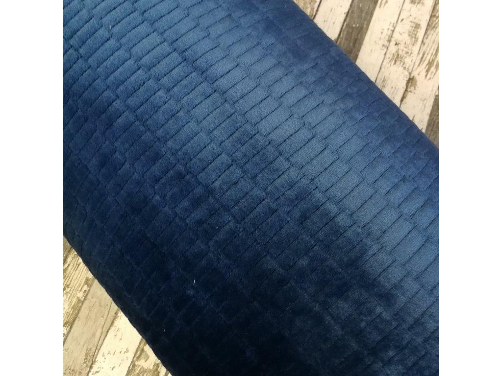 Minky, kostky tmavě modrá