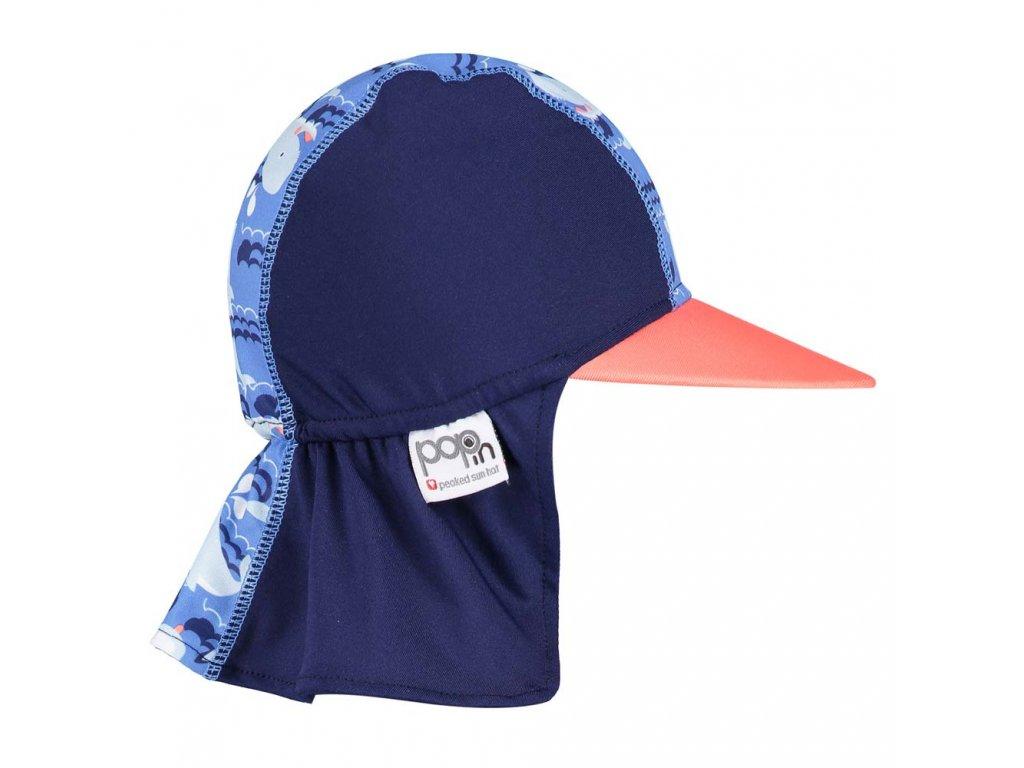 50139634 Close Pop in Sun hat Whale Side 1000x1000