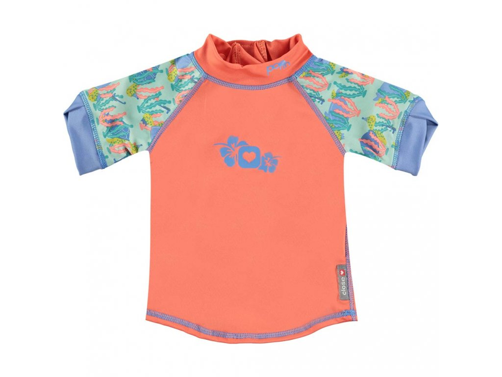 50122635 Pop in Rash Vest Short Sleeve Turtle Front 1000x1000
