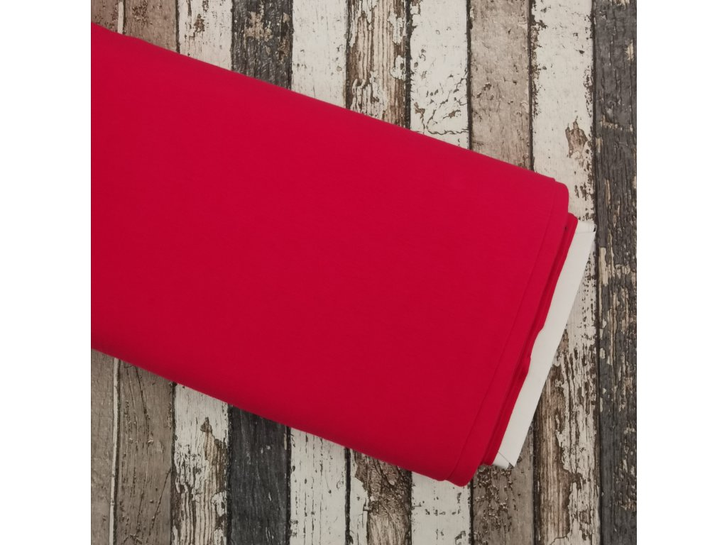 Úplet vyšší gramáž, červeno-růžová 016