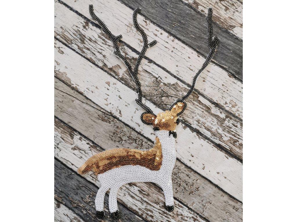 Nášivka, jelen