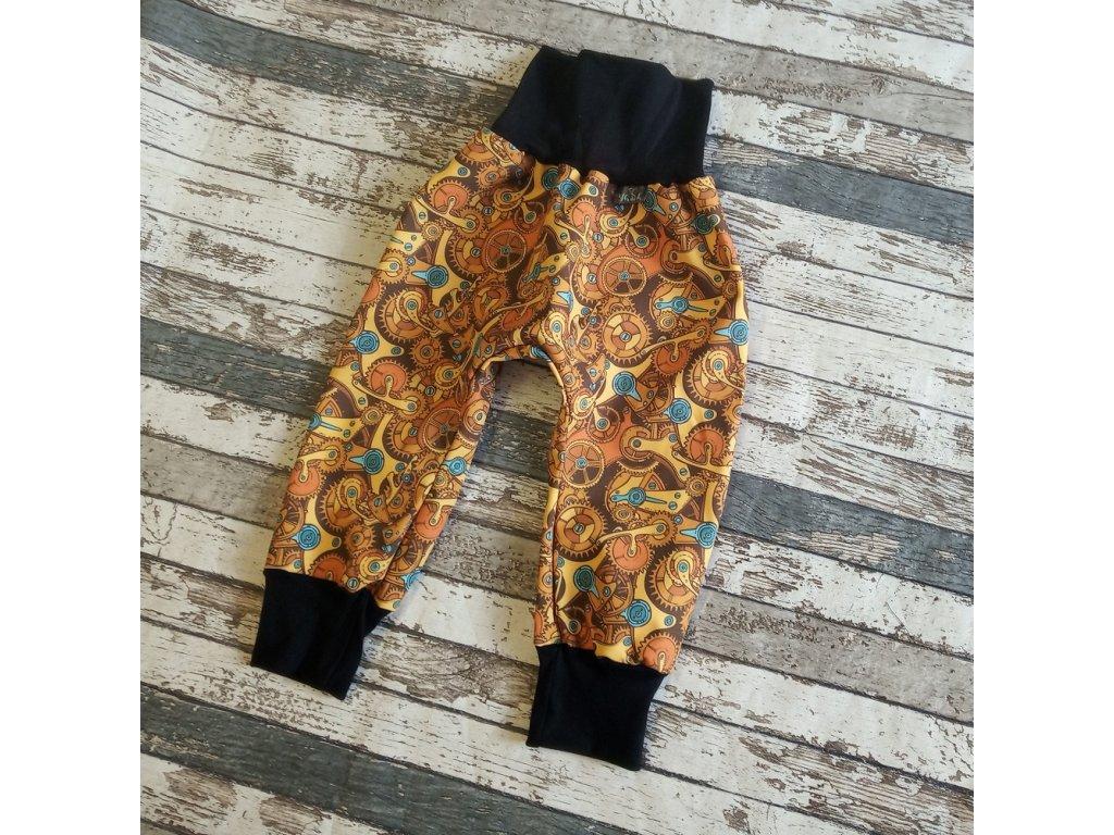 Zimní softshellové kalhotky Yháček, ozubená kolečka