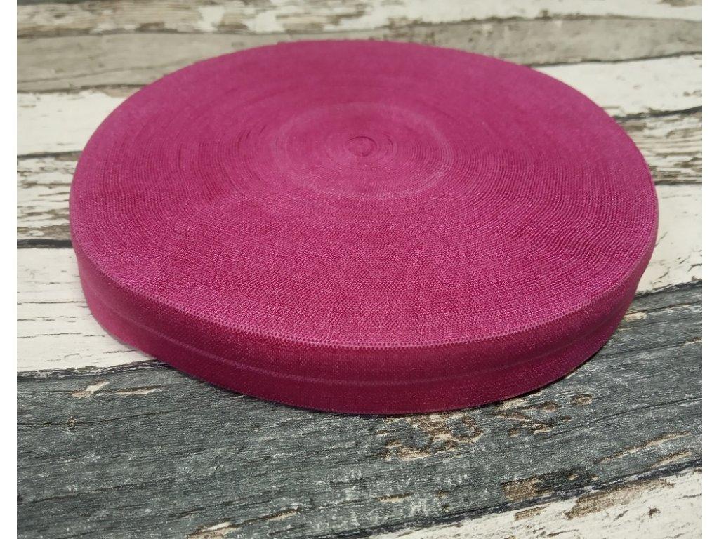 Pruženka půlená, jahodová, 19 mm