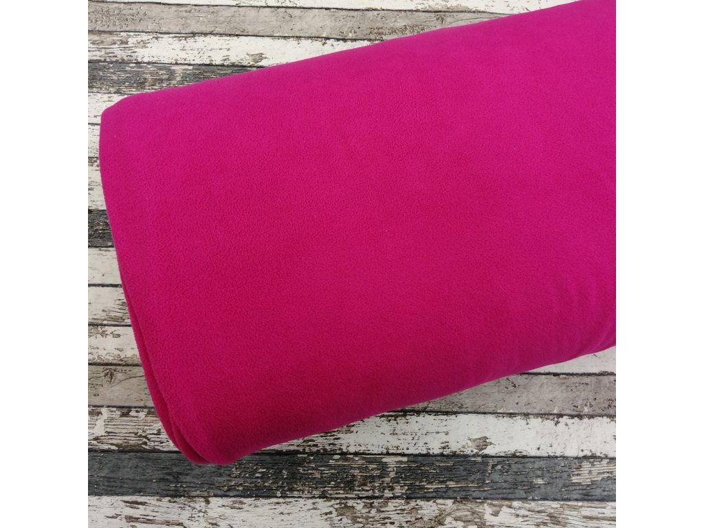 Fleece antipiling, 190 g, růžový, 567