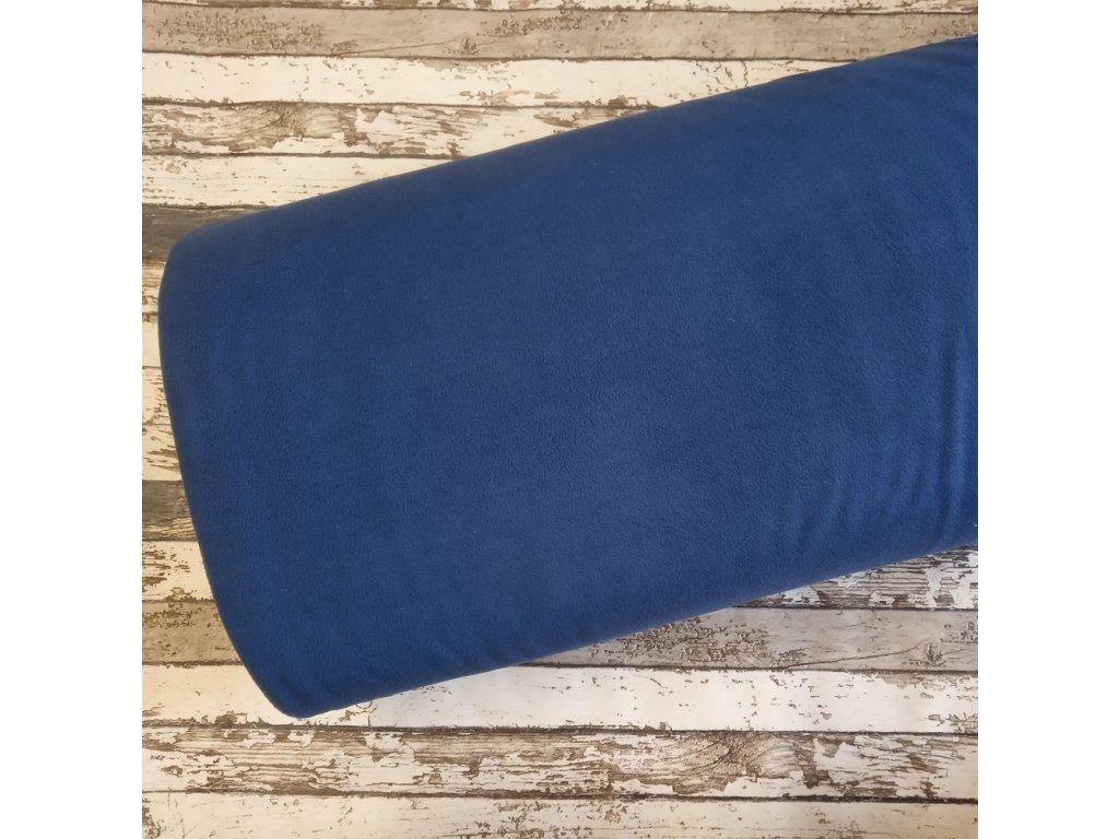 Fleece antipiling, 190 g, modrý, 423