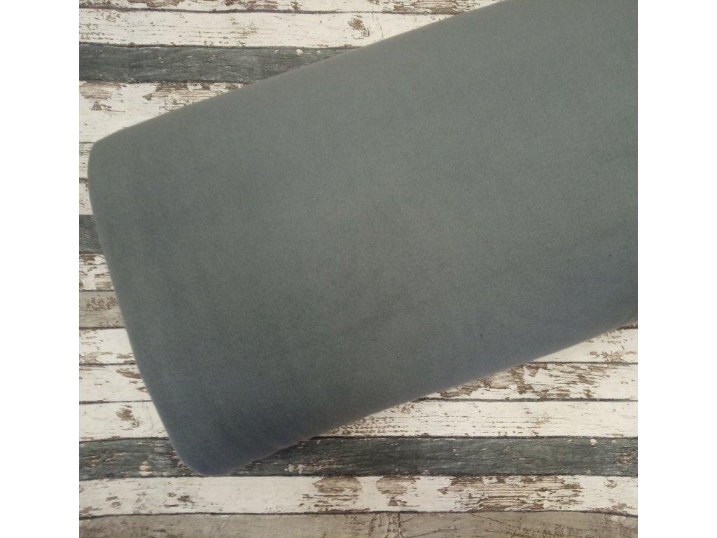Fleece antipiling, 240 g, středně šedá, 51