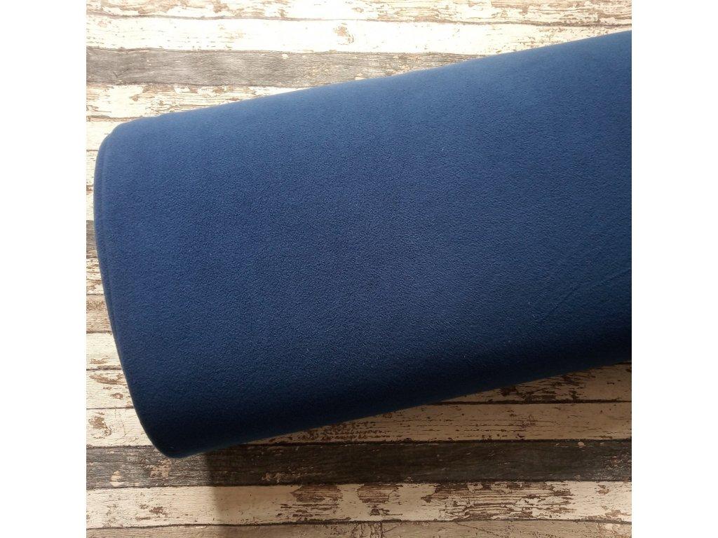 Fleece antipiling, 300 g, modrá, 423