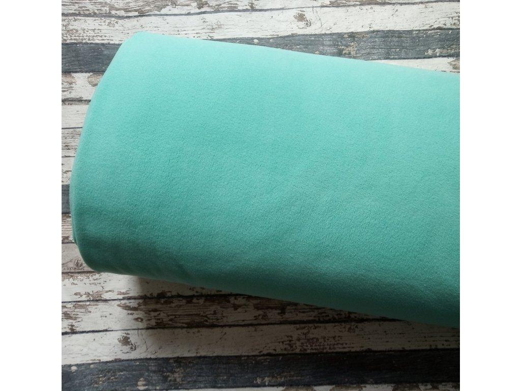 Fleece antipiling, 240 g, mentol, 595