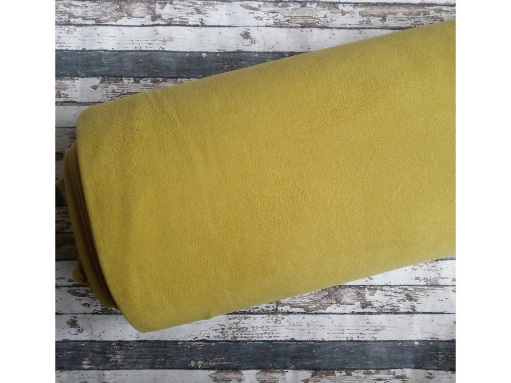 Fleece antipiling, 240 g, okrová, 717