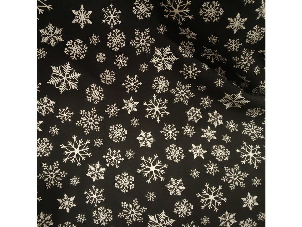 Teplákovina, Vánoční vločky na černé